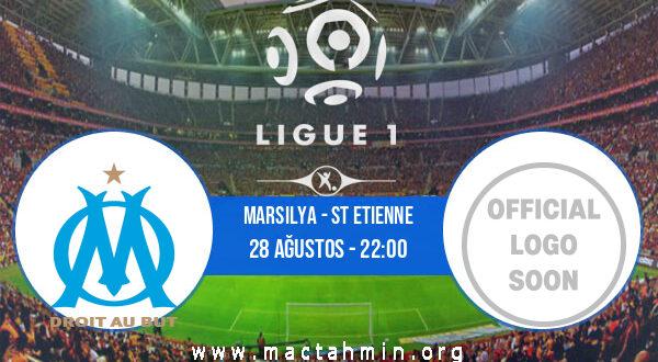 Marsilya - St Etienne İddaa Analizi ve Tahmini 28 Ağustos 2021