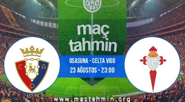 Osasuna - Celta Vigo İddaa Analizi ve Tahmini 23 Ağustos 2021