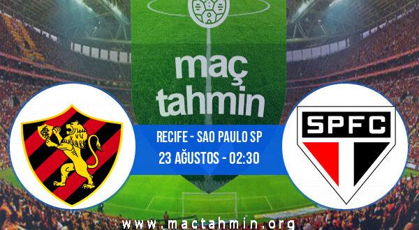 Recife - Sao Paulo SP İddaa Analizi ve Tahmini 23 Ağustos 2021