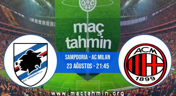 Sampdoria - AC Milan İddaa Analizi ve Tahmini 23 Ağustos 2021
