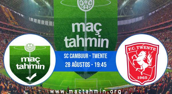 SC Cambuur - Twente İddaa Analizi ve Tahmini 28 Ağustos 2021