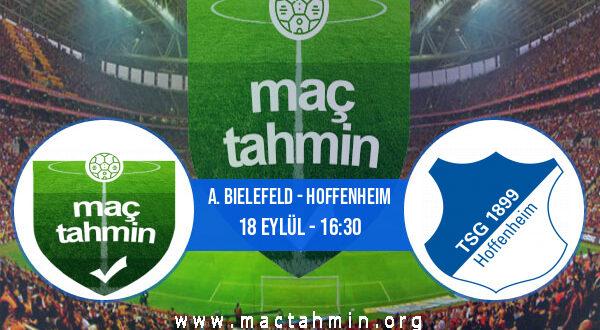 A. Bielefeld - Hoffenheim İddaa Analizi ve Tahmini 18 Eylül 2021