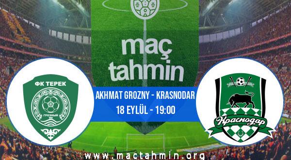 Akhmat Grozny - Krasnodar İddaa Analizi ve Tahmini 18 Eylül 2021