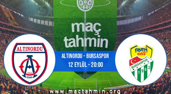 Altınordu - Bursaspor İddaa Analizi ve Tahmini 12 Eylül 2021