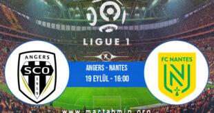 Angers - Nantes İddaa Analizi ve Tahmini 19 Eylül 2021
