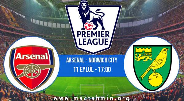 Arsenal - Norwich City İddaa Analizi ve Tahmini 11 Eylül 2021