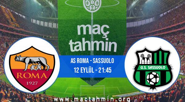 AS Roma - Sassuolo İddaa Analizi ve Tahmini 12 Eylül 2021