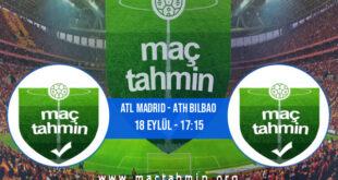 Atl Madrid - Ath Bilbao İddaa Analizi ve Tahmini 18 Eylül 2021