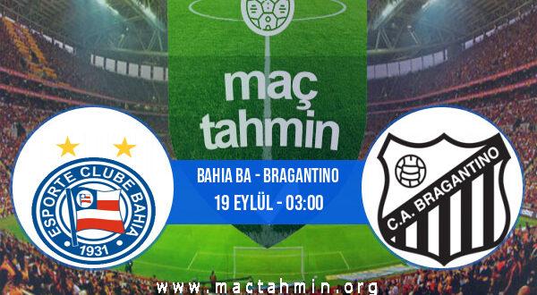 Bahia BA - Bragantino İddaa Analizi ve Tahmini 19 Eylül 2021
