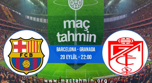 Barcelona - Granada İddaa Analizi ve Tahmini 20 Eylül 2021