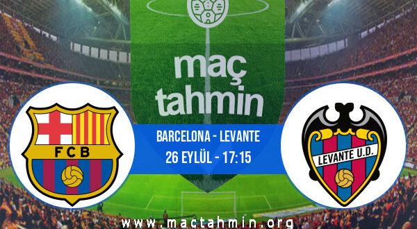 Barcelona - Levante İddaa Analizi ve Tahmini 26 Eylül 2021