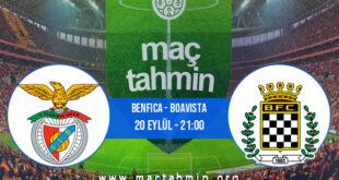 Benfica - Boavista İddaa Analizi ve Tahmini 20 Eylül 2021