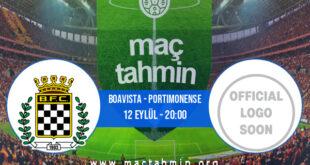 Boavista - Portimonense İddaa Analizi ve Tahmini 12 Eylül 2021