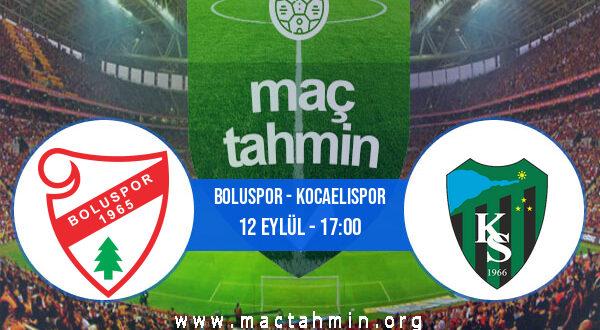 Boluspor - Kocaelispor İddaa Analizi ve Tahmini 12 Eylül 2021