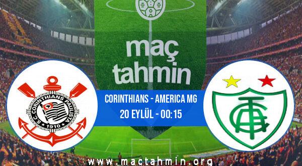 Corinthians - America MG İddaa Analizi ve Tahmini 20 Eylül 2021