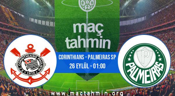 Corinthians - Palmeiras SP İddaa Analizi ve Tahmini 26 Eylül 2021