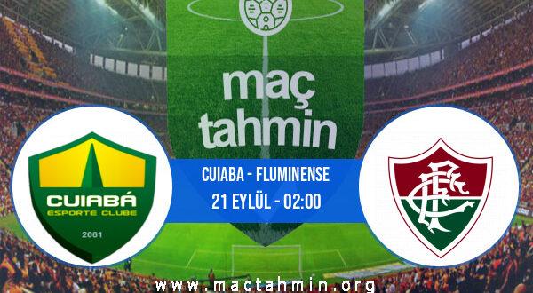 Cuiaba - Fluminense İddaa Analizi ve Tahmini 21 Eylül 2021
