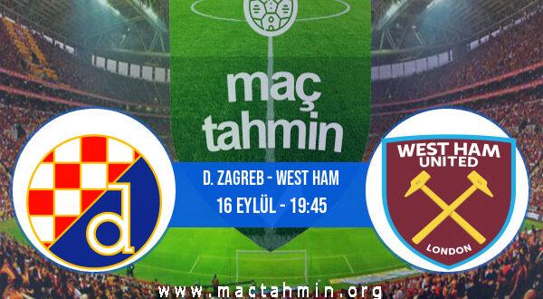 D. Zagreb - West Ham İddaa Analizi ve Tahmini 16 Eylül 2021