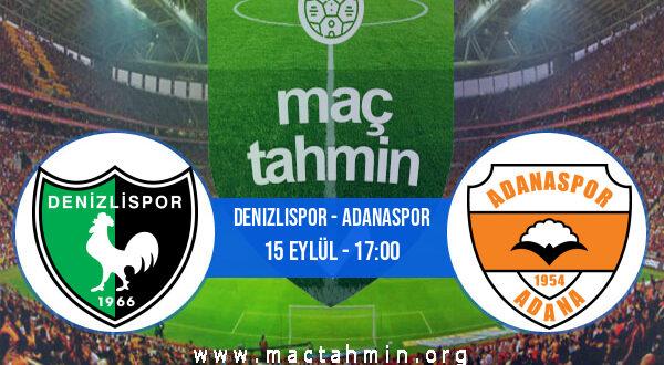Denizlispor - Adanaspor İddaa Analizi ve Tahmini 15 Eylül 2021