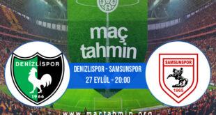 Denizlispor - Samsunspor İddaa Analizi ve Tahmini 27 Eylül 2021