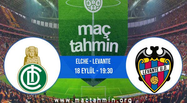 Elche - Levante İddaa Analizi ve Tahmini 18 Eylül 2021