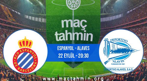 Espanyol - Alaves İddaa Analizi ve Tahmini 22 Eylül 2021