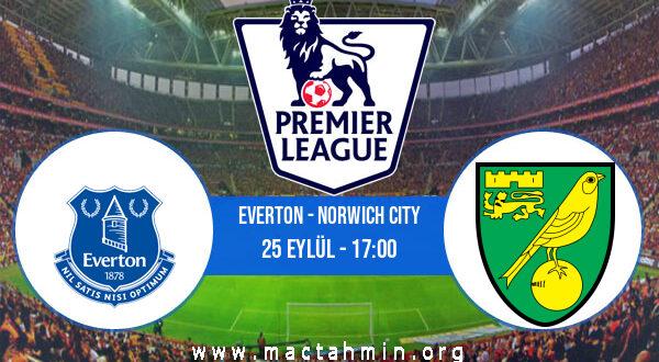 Everton - Norwich City İddaa Analizi ve Tahmini 25 Eylül 2021