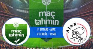 F. Sittard - Ajax İddaa Analizi ve Tahmini 21 Eylül 2021