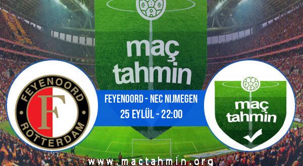 Feyenoord - NEC Nijmegen İddaa Analizi ve Tahmini 25 Eylül 2021