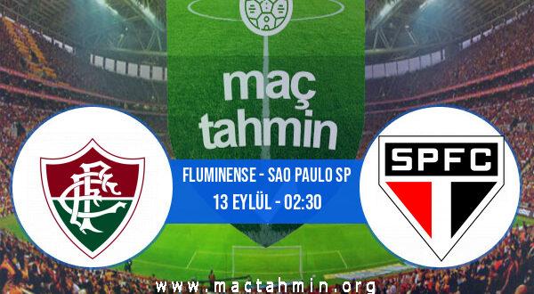 Fluminense - Sao Paulo SP İddaa Analizi ve Tahmini 13 Eylül 2021