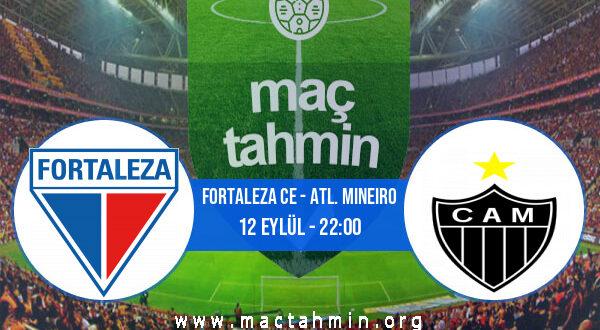 Fortaleza CE - Atl. Mineiro İddaa Analizi ve Tahmini 12 Eylül 2021
