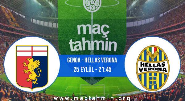 Genoa - Hellas Verona İddaa Analizi ve Tahmini 25 Eylül 2021