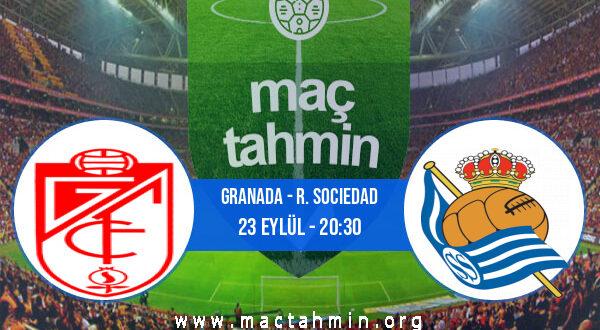 Granada - R. Sociedad İddaa Analizi ve Tahmini 23 Eylül 2021