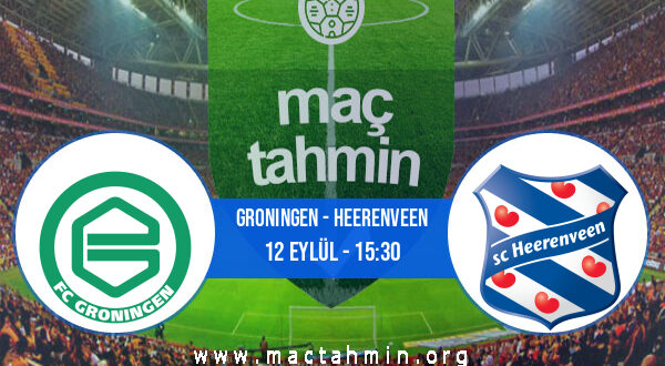 Groningen - Heerenveen İddaa Analizi ve Tahmini 12 Eylül 2021