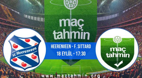Heerenveen - F. Sittard İddaa Analizi ve Tahmini 18 Eylül 2021