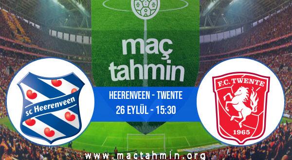 Heerenveen - Twente İddaa Analizi ve Tahmini 26 Eylül 2021
