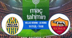 Hellas Verona - AS Roma İddaa Analizi ve Tahmini 19 Eylül 2021