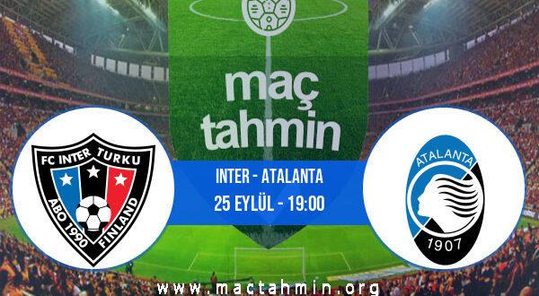 Inter - Atalanta İddaa Analizi ve Tahmini 25 Eylül 2021