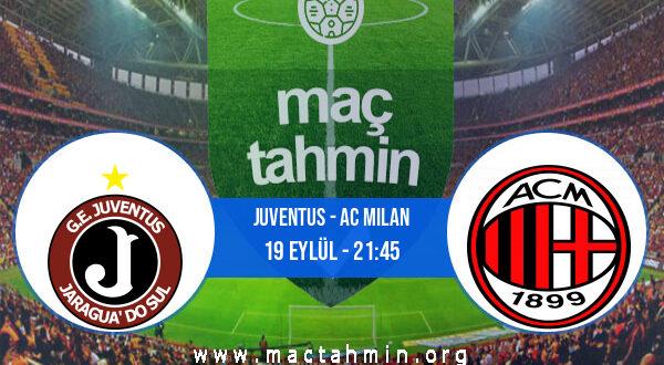 Juventus - AC Milan İddaa Analizi ve Tahmini 19 Eylül 2021