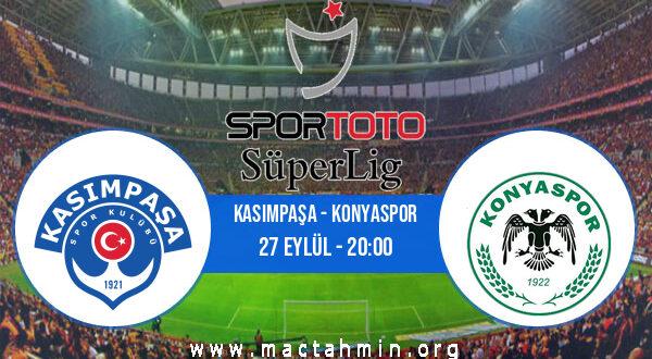 Kasımpaşa - Konyaspor İddaa Analizi ve Tahmini 27 Eylül 2021