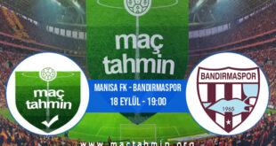 Manisa FK - Bandırmaspor İddaa Analizi ve Tahmini 18 Eylül 2021