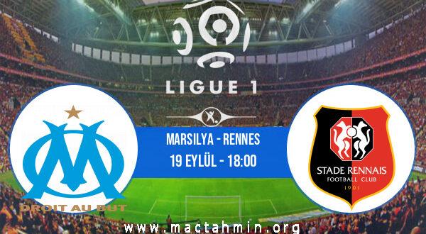 Marsilya - Rennes İddaa Analizi ve Tahmini 19 Eylül 2021
