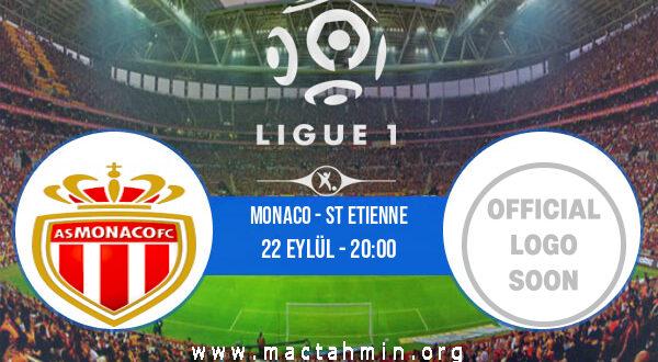 Monaco - St Etienne İddaa Analizi ve Tahmini 22 Eylül 2021