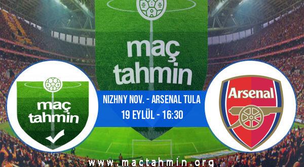 Nizhny Nov. - Arsenal Tula İddaa Analizi ve Tahmini 19 Eylül 2021