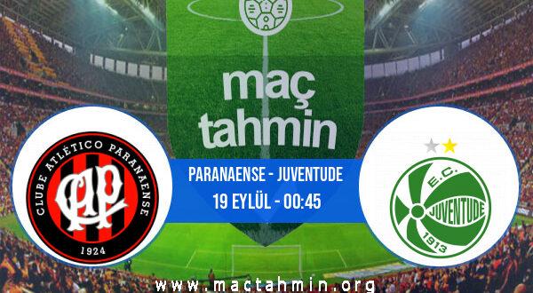 Paranaense - Juventude İddaa Analizi ve Tahmini 19 Eylül 2021