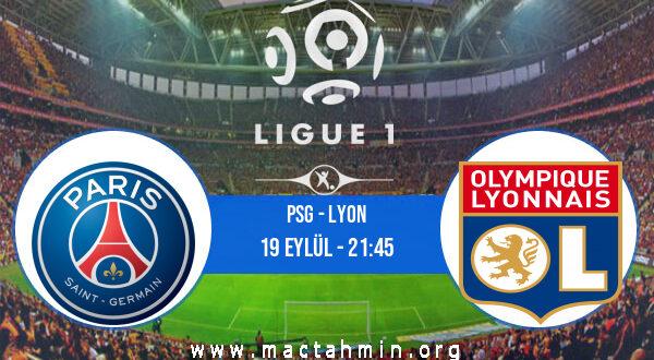 PSG - Lyon İddaa Analizi ve Tahmini 19 Eylül 2021