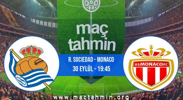 R. Sociedad - Monaco İddaa Analizi ve Tahmini 30 Eylül 2021