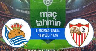 R. Sociedad - Sevilla İddaa Analizi ve Tahmini 19 Eylül 2021