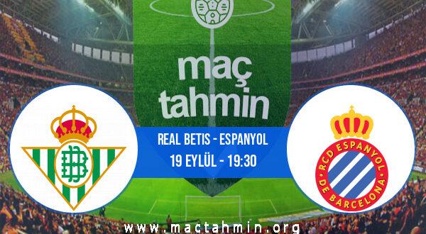 Real Betis - Espanyol İddaa Analizi ve Tahmini 19 Eylül 2021