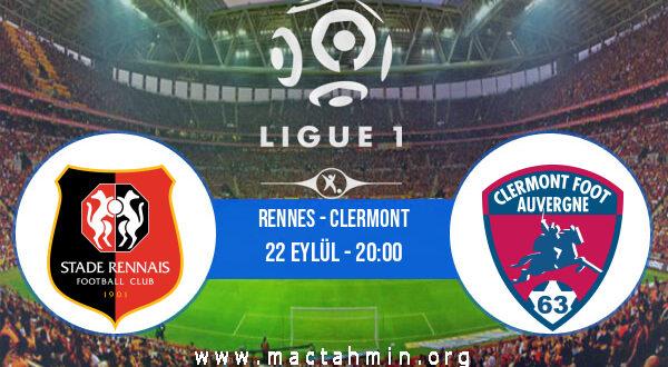 Rennes - Clermont İddaa Analizi ve Tahmini 22 Eylül 2021